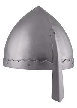 Normanská helma, oceľ 1,6 mm LARP REKO