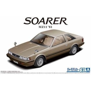 AOSHIMA 05847 TOYOTA MZ11 SAREER 2800 GT-EXTRA '81
