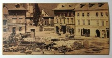Postcard Square Wolnica Kraków 1870 Reprint SPK