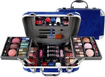 Pohár na kozmetiku make-up parete tieňový set