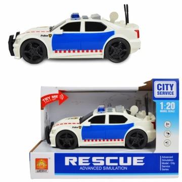 Policajné auto AUTKO Drive Sound Light