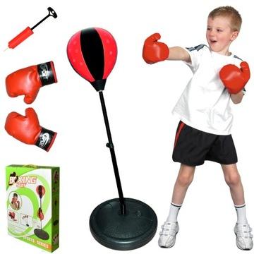 Boxerská sada box pre deti HRUŠKOVÉ RUKAVICE