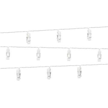 Svietidlá Dekoratívne vonkajšie LED klipy 140 cm