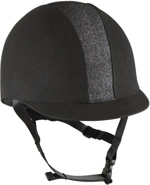 York Eclipse Riding Helmet Black 53-55 S