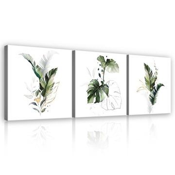 Obrázok do obývacej izby MONSTER LISTES WHITE MODERN