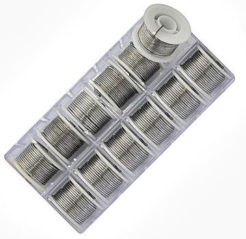 12 x Lameta olovo 0,7mm / 70cm MUCHA Streamer
