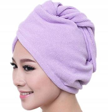Hlava uterák turban pre vlasy mikrovlákna