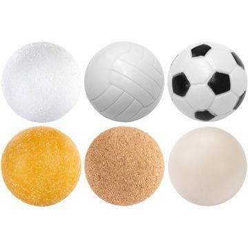 Ballové gule pre stôl Futbal 6 kusov MIX farby