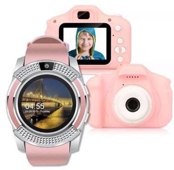SmartWatch + Digitálny fotoaparát pre deti 1080p + hry