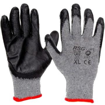 100x Pracovné rukavice Dragon Potiahnuté Rukavice
