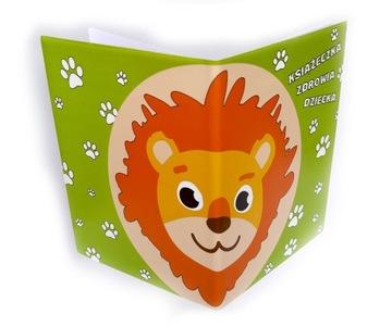 OBAL na knihu zdravia dieťaťa - Lev