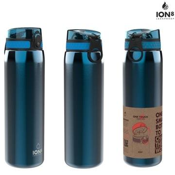 Oceľová fľaša na vodu Original Ion8 1 L
