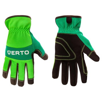 Pracovné rukavice zo syntetickej kože 8