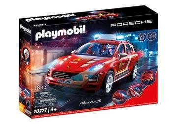 Playmobil 70277 Porsche Macan S, hasičský zbor