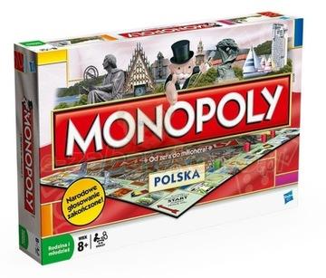 Spoločenská hra Hasbro Monopoly Polska