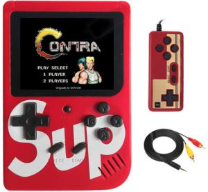 Konzola 400 Hry Mario Contra Chip TV 2x Pad Red