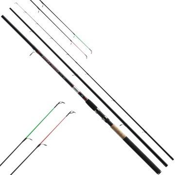 Podávač Rod Jaxon Zaffira 3.6m 50-120g Feder
