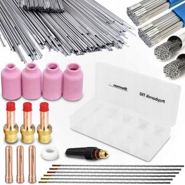Zariadenie TIG AC DC AlSi drôtené elektródové dýzy AlMG