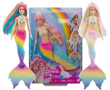 Barbie Dábka Magic Rainbow Mermaid Twards Circle