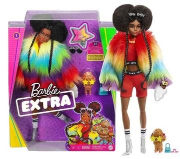 Barbie Doll Extra Doll + Dog + Príslušenstvo 04
