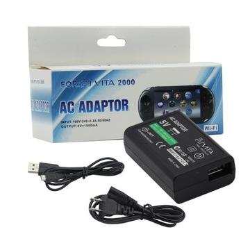 Sieťová nabíjačka USB kábel pre PS VITA PCH-2000