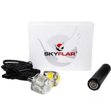 Dvojitá LED SkyFLAR ST-202 R / W LED