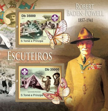 Scouting Robert Baden-Powell St. Tome # 55st11309A