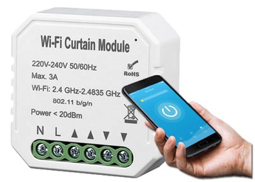 Inteligentný ovládač uzávierky TUYA WiFi TOTAL