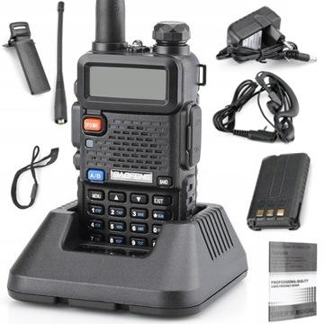 Rádio Baofeng UV-5R HT 5W PMR NOVÁ VERZIA