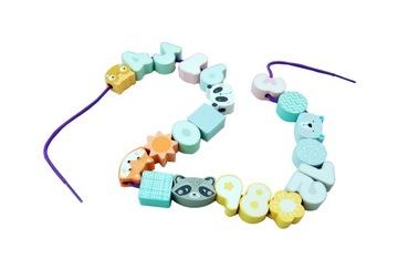Súprava navliekacích korálkov Adam Toys pre dieťa