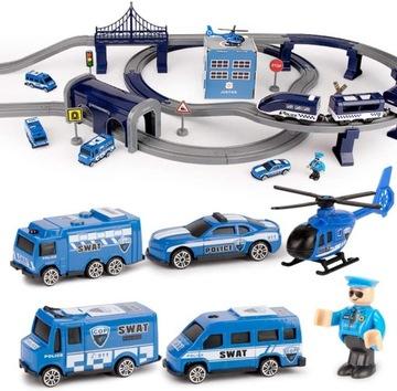 Elektrická železničná dráha Helicopter Policajný vlak