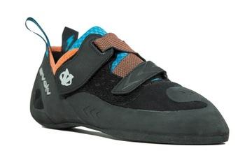 EVolv Kronos UK 5 Black / Orange lezecké topánky
