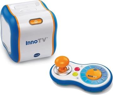 VTECH INNOTV Vzdelávacia konzola WiFi ANG hra.