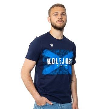Tričko Lech Poznań Macron Kolejorz Navy Blue XXL