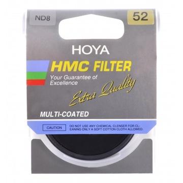 HOYA FILTER GRAY NDX8 HMC 52 mm