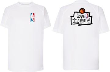 Športové tričko NBA Láska Táto hra 12-14