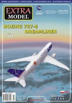 Extra Model_boeing 787-8 Dreamliner Wośp