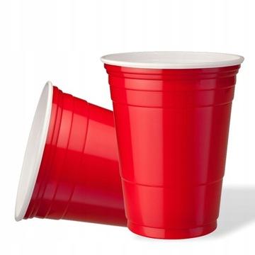 Riady cups party červená 400 ml 50 ks