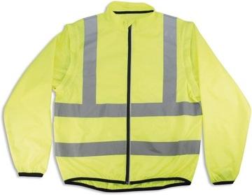 Reflexná pracovná bunda. ROZ. XL