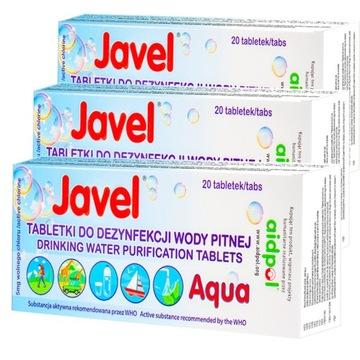Tablety tablety na čistenie vody