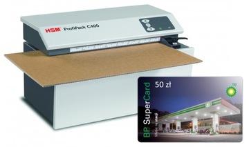 HSM C400 + ZADARMO Kartón Cutter BP CARD