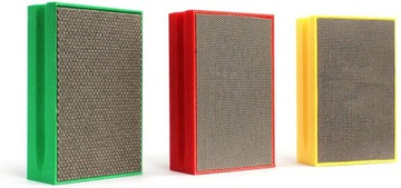 Diamond Cube Sponge pre brúsenie GRES KPL