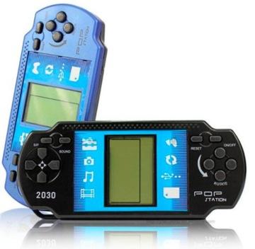 Prenosná konzola 7 hry Tetris hra Darčekový Retro