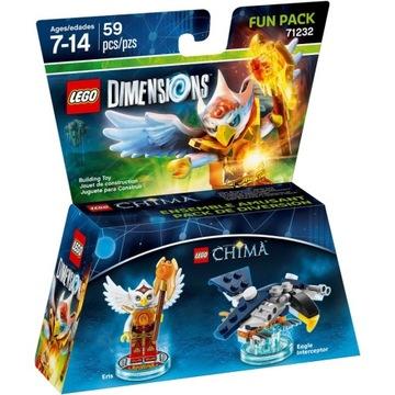 LEGO ROZMERY 71232 ZÁBAVNÝ BALÍČEK CHIMA ERIS