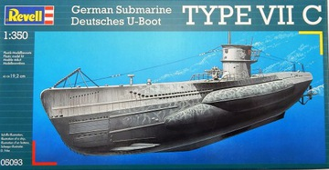 A5861 Model pre lepenie lode Underwater Rebell Typ