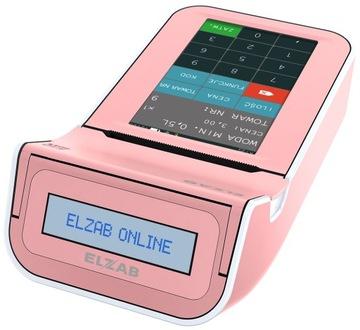 Ružová pokladňa Elzab K10 Online WiFi / BT / EX