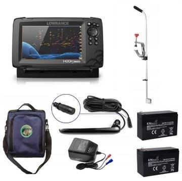 Fishfinder s GPS Lowrance HOOK Reveal 7 HDI Set