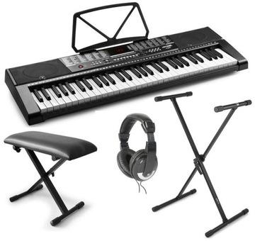 Sada klávesových organ + statív + Stooly + slúchadlá
