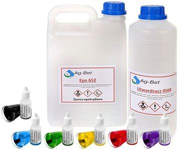 Zlievárenská epoxidová živica 1.5kg Crystaline +