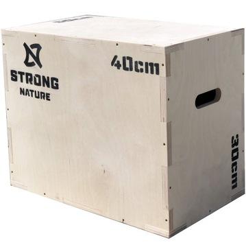 Plyometrický hrudník 30x40x50 CrossFit